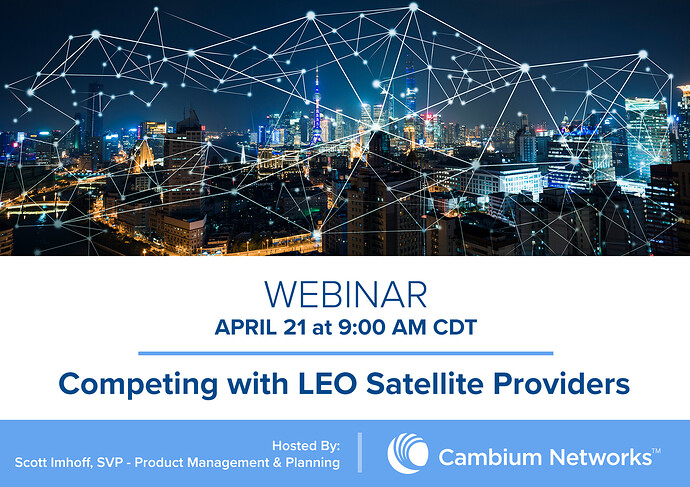 Webinar Graphic (Competing with LEO Satellite Providers)