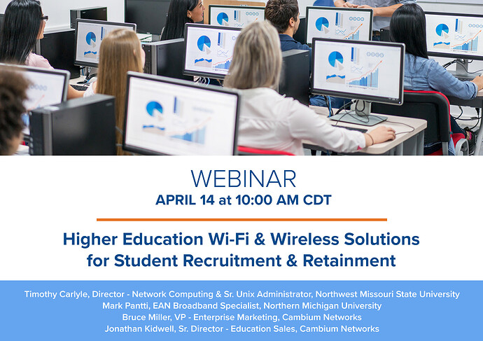 Webinar Graphic (How Higher Education Wi-Fi & Wireless Solutions)