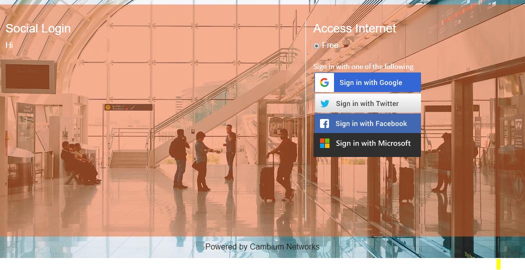 Guest Access using Social Login - Google - Twitter - Facebook