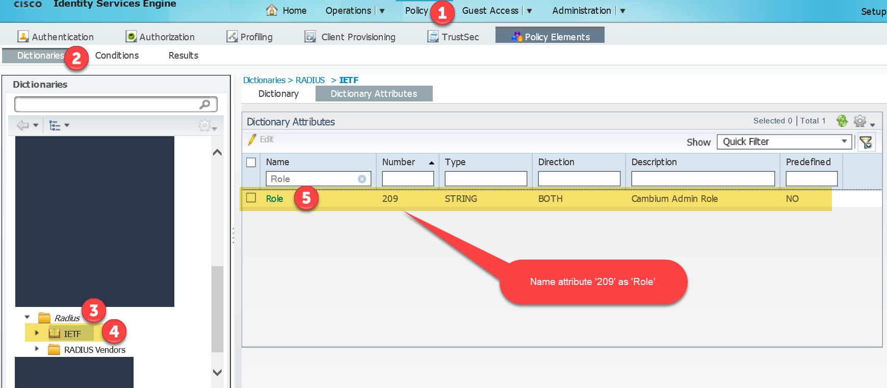 Integrating Cisco ISE into cnMaestro for Radius User Login