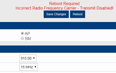 Solved: Cannot select 15/20MHz channel widths on PMP450i 900MHz